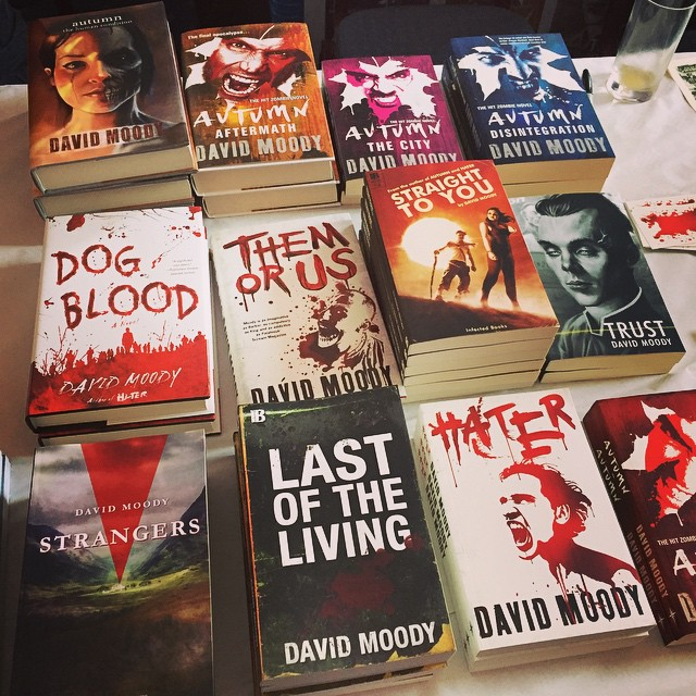 Infected Books at the cardiffindependentcomicexpo Continue reading