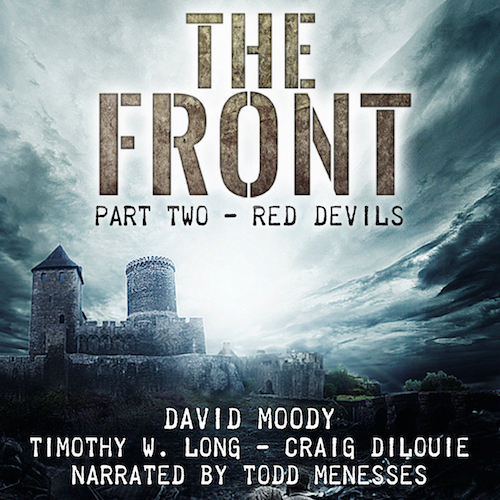 The Front: Red Devils by David Moody (audiobook, Infected Books 2017)