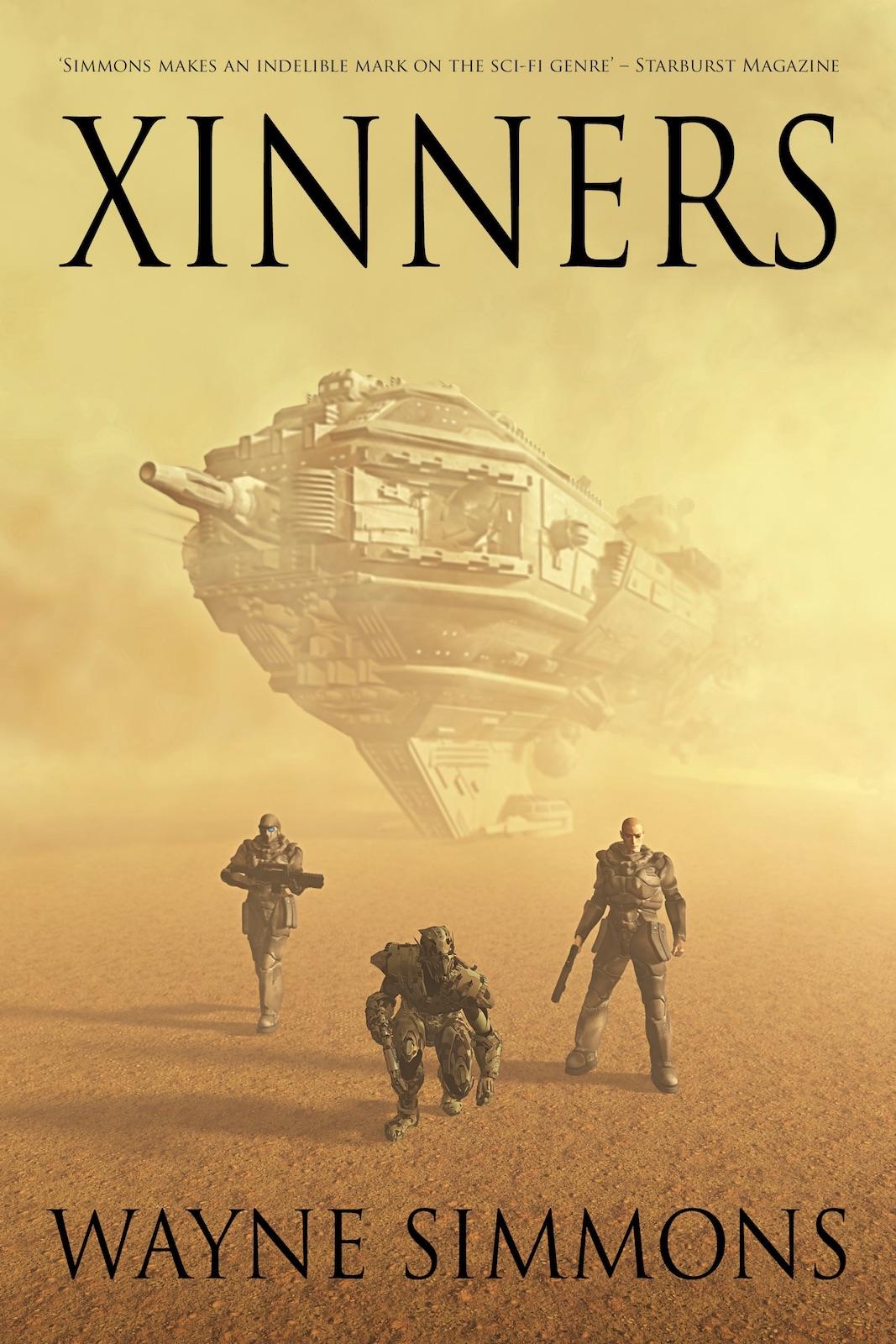 Xinners by Wayne Simmons