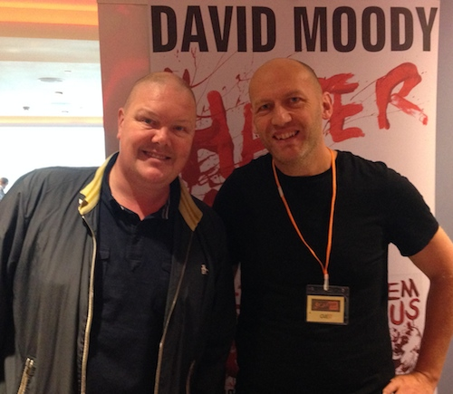 David Moody and Dominic Brunt (Before Dawn)